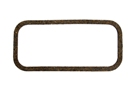 MGB Side plate gasket, cork 62-71