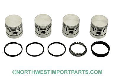 MGA Piston set 1622 .020 over 61-62