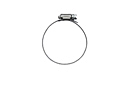 MG Midget Fuel filler hose clamp 61-79