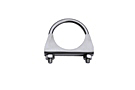 MGB Stainless steel exhaust clamp 62-80