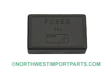 MGB Fuse box cover 70-80
