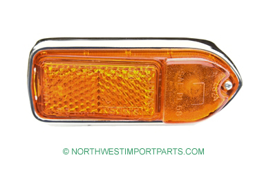 MGB Front side marker light assembly, Right 70-80
