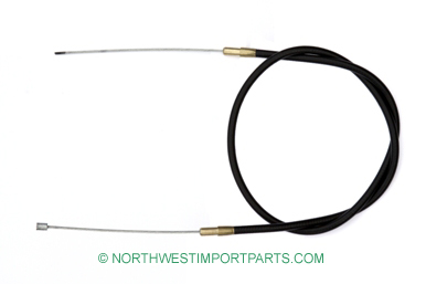 MG Midget Accelerator cable 61-74