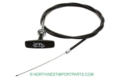 MG Midget Hood release cable 78-79