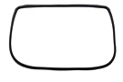 MGBGT Rear hatch glass glazing seal 65-74