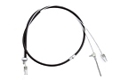 MGB Emergency brake cable 74.5-76