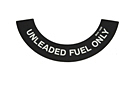MGB Unleaded fuel decal 75-80