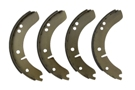 MGA Rear brake shoe set 55-62