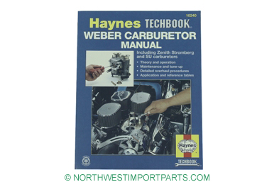 MG Midget S.U. and Zenith Carburetor repair manual 61-79