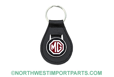 MGB Leather key fob 62-80
