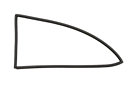MGBGT Rear side window seal Left 65-74