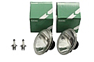 MGA Lucas halogen headlight set 55-62