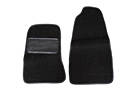 MGA Carpet floor mats, black 55-62