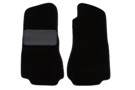 MGB Carpet floor mats, pair Black 68-80