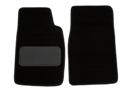 MG Midget Carpet floor mats, pair black 61-79