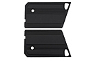 MG Midget Door panels, pair, black 70-79