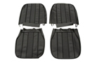 MG Midget Seat kit black 70-79