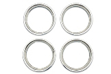 MGB Trim ring set 70-80